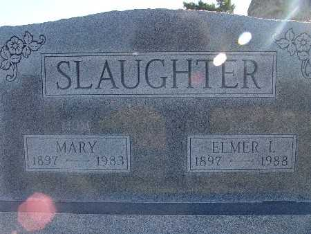 SLAUGHTER, ELMER I - Warren County, Iowa | ELMER I SLAUGHTER