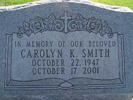 SMITH, CAROLYN K. - Warren County, Iowa | CAROLYN K. SMITH