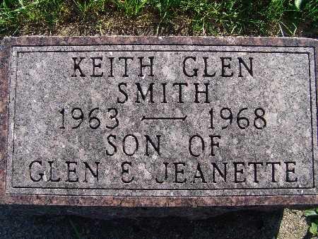 SMITH, KEITH GLEN - Warren County, Iowa | KEITH GLEN SMITH