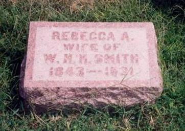 SMITH, REBECCA A. - Warren County, Iowa | REBECCA A. SMITH