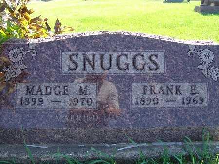 SNUGGS, MADGE M - Warren County, Iowa | MADGE M SNUGGS