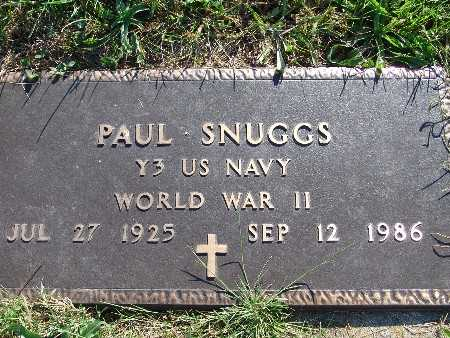 SNUGGS, PAUL - Warren County, Iowa   PAUL SNUGGS