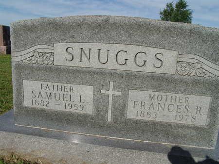 SNUGGS, SAMUEL L. - Warren County, Iowa   SAMUEL L. SNUGGS