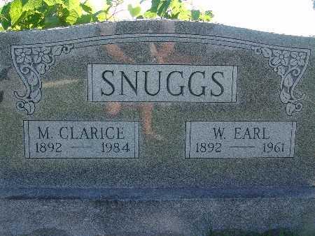 SNUGGS, W EARL - Warren County, Iowa | W EARL SNUGGS
