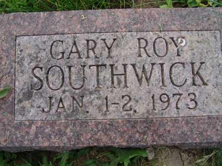 SOUTHWICK, GARY ROY - Warren County, Iowa   GARY ROY SOUTHWICK