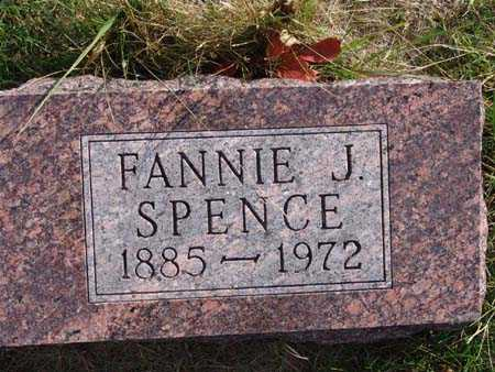 SPENCE, FANNIE J. - Warren County, Iowa | FANNIE J. SPENCE