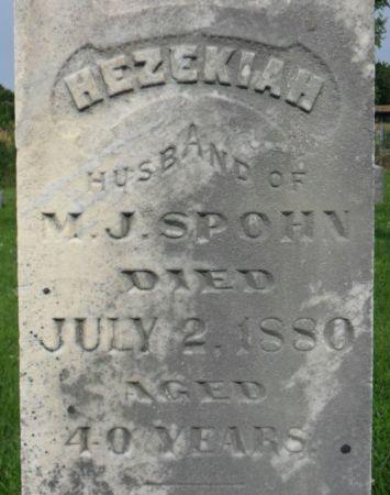 SPOHN, HEZEKIAH - Warren County, Iowa | HEZEKIAH SPOHN