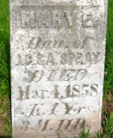 SPRAY, MARY E. - Warren County, Iowa | MARY E. SPRAY