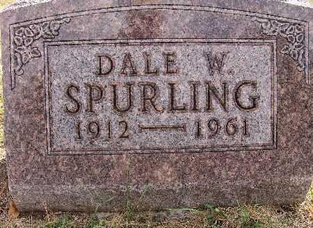 SPURLING, DALE W. - Warren County, Iowa | DALE W. SPURLING
