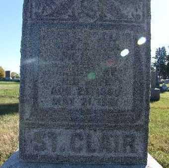 ST. CLAIR, JOHN F. - Warren County, Iowa | JOHN F. ST. CLAIR