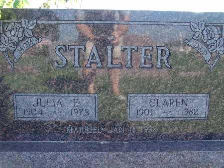 STALTER, JULIA E - Warren County, Iowa | JULIA E STALTER