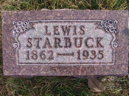 STARBUCK, LEWIS - Warren County, Iowa   LEWIS STARBUCK