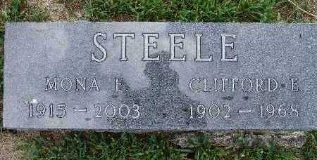 STEELE, CLIFFORD E. - Warren County, Iowa | CLIFFORD E. STEELE
