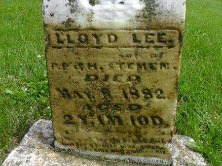 STEMEN, LLOYD LEE - Warren County, Iowa | LLOYD LEE STEMEN