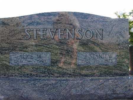 STEVENSON, J. STANLEY - Warren County, Iowa | J. STANLEY STEVENSON