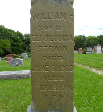 STRAIN, WILLIAM T. - Warren County, Iowa | WILLIAM T. STRAIN