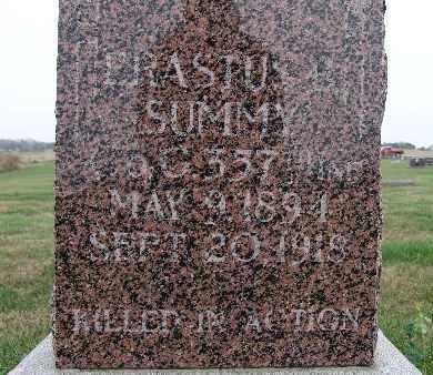 SUMMY, ERASTUS B. - Warren County, Iowa   ERASTUS B. SUMMY