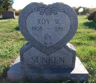SUNKEN, ROY W. - Warren County, Iowa | ROY W. SUNKEN