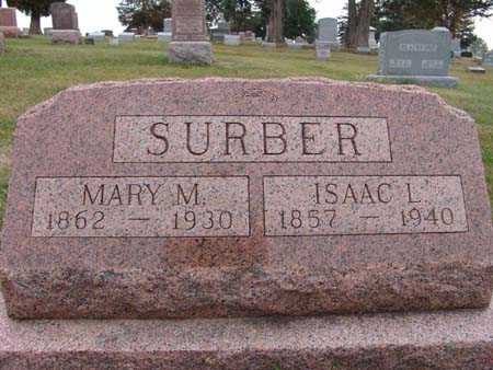 SURBER, MARY M. - Warren County, Iowa | MARY M. SURBER
