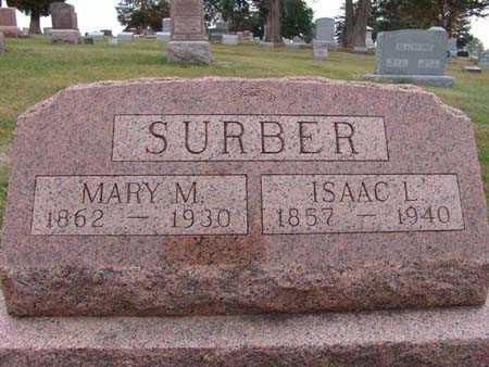 SURBER, ISAAC L. - Warren County, Iowa | ISAAC L. SURBER