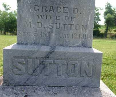 SUTTON, GRACE D. - Warren County, Iowa | GRACE D. SUTTON