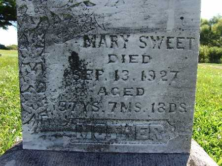 SWEET, MARY - Warren County, Iowa | MARY SWEET