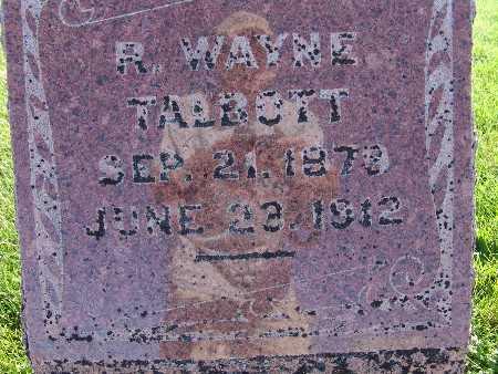 TALBOTT, R. WAYNE - Warren County, Iowa | R. WAYNE TALBOTT