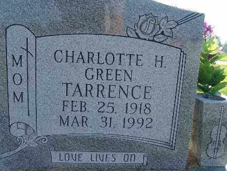 TARRENCE, CHARLOTTE H. GREEN - Warren County, Iowa   CHARLOTTE H. GREEN TARRENCE