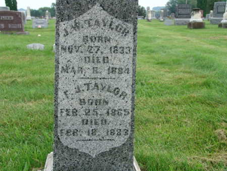 TAYLOR, J W - Warren County, Iowa | J W TAYLOR