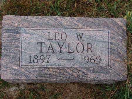 TAYLOR, LEO W. - Warren County, Iowa   LEO W. TAYLOR