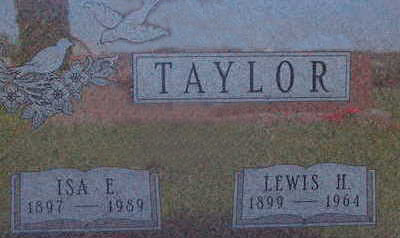 TAYLOR, LEWIS H - Warren County, Iowa | LEWIS H TAYLOR