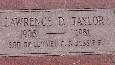 TAYLOR, LAWRENCE D - Warren County, Iowa | LAWRENCE D TAYLOR