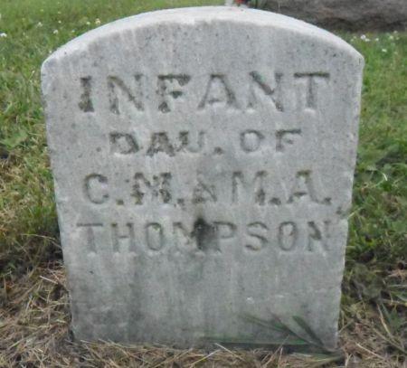 THOMPSON, INFANT DAUGHTER - Warren County, Iowa   INFANT DAUGHTER THOMPSON