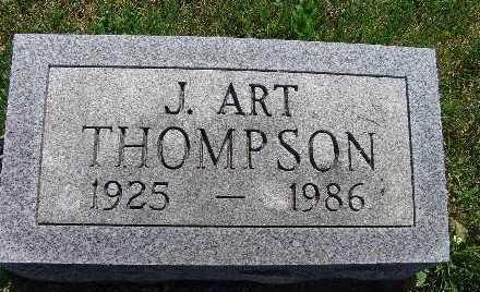 THOMPSON, J. ART - Warren County, Iowa | J. ART THOMPSON