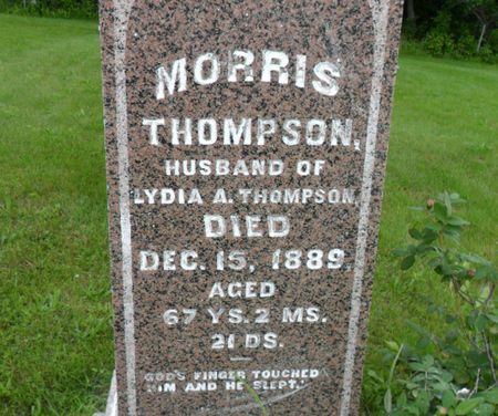 THOMPSON, MORRIS - Warren County, Iowa | MORRIS THOMPSON