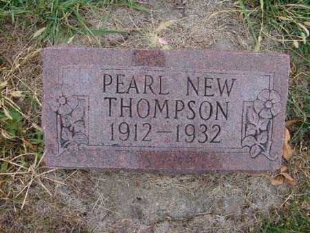 THOMPSON, PEARL NEW - Warren County, Iowa   PEARL NEW THOMPSON