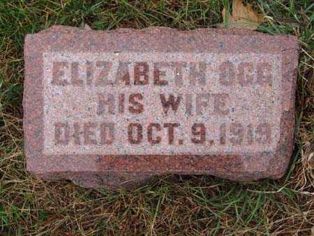 THORNTON, ELIZABETH OGG - Warren County, Iowa   ELIZABETH OGG THORNTON