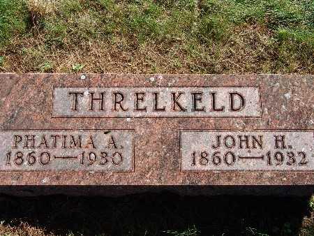 THRELKELD, PHATIMA A - Warren County, Iowa | PHATIMA A THRELKELD