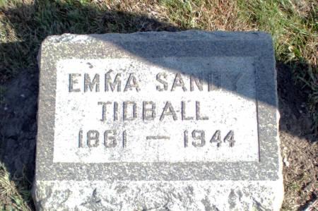 SANDY TIDBALL, EMMA - Warren County, Iowa | EMMA SANDY TIDBALL