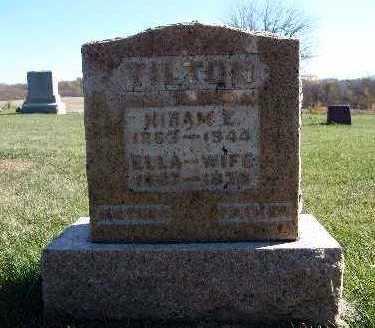 TILTON, HIRAM E. - Warren County, Iowa | HIRAM E. TILTON