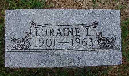 TODD, LORAINE L. - Warren County, Iowa | LORAINE L. TODD