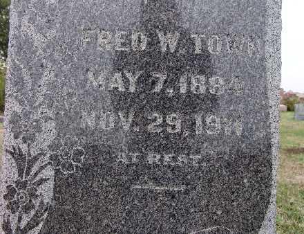 TOWN, FRED W. - Warren County, Iowa | FRED W. TOWN