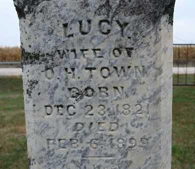 TOWN, LUCY - Warren County, Iowa   LUCY TOWN