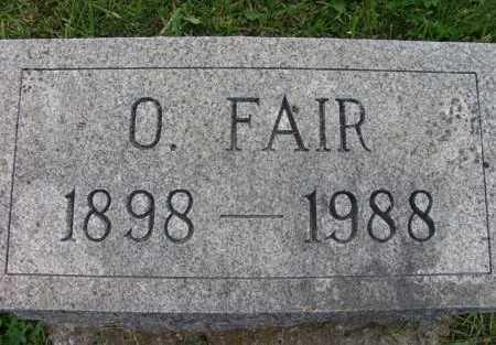 TOWN, O. FAIR - Warren County, Iowa | O. FAIR TOWN