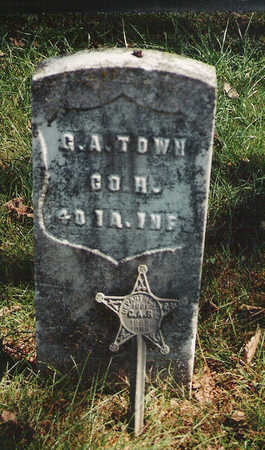 TOWNE, GIDEON AARON - Warren County, Iowa   GIDEON AARON TOWNE
