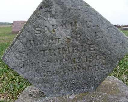 TRIMBLE, SARAH C. - Warren County, Iowa | SARAH C. TRIMBLE