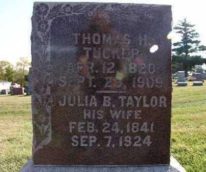 TUCKER, THOMAS H. - Warren County, Iowa   THOMAS H. TUCKER