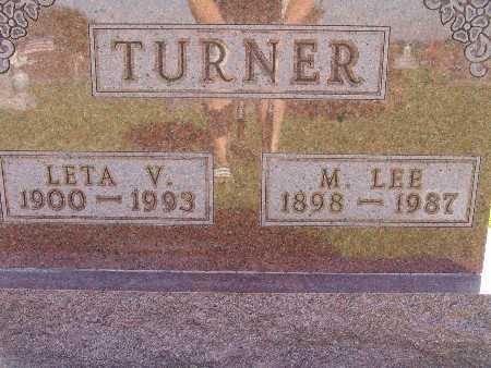 TURNER, M LEE - Warren County, Iowa | M LEE TURNER