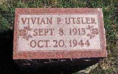 UTSLER, VIVIAN P. - Warren County, Iowa | VIVIAN P. UTSLER
