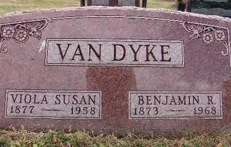 VAN DYKE, BENJAMIN R. - Warren County, Iowa | BENJAMIN R. VAN DYKE